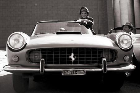 Одри Хепберн – любительница Ferrari