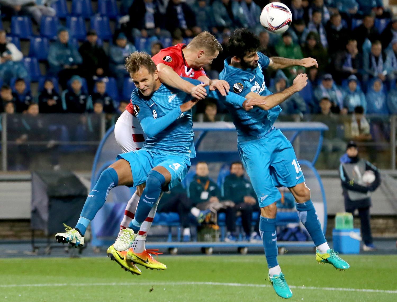 Втаблице коэффициентов УЕФА РФ опустилась наседьмое место, пропустив вперед Португалию