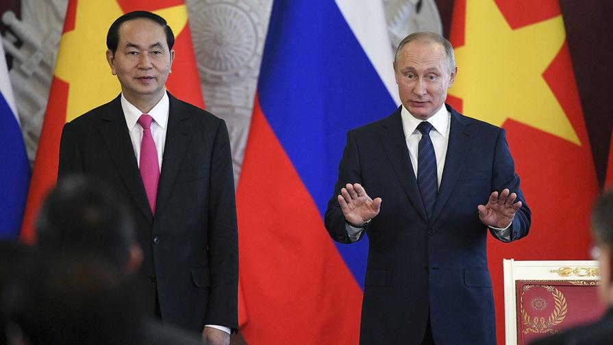 Лидер Вьетнама пригласил В.Путина посетить страну