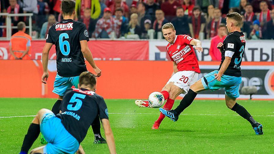 «Спартак» обыграл «Тун» ивышел вплей-офф квалификации Лиги Европы