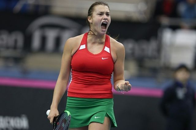 Соболенко вышла вфинал турнира вНью-Хейвене