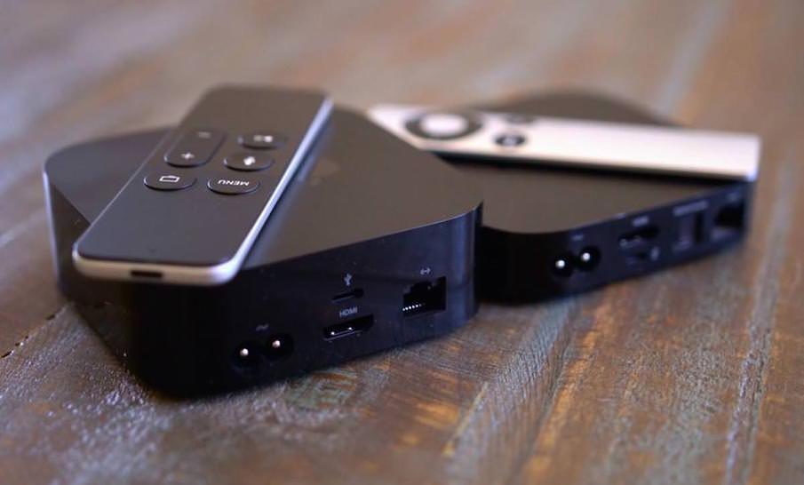 Четвертое поколение Apple TV заметно «потолстело» по отношению к прошлом