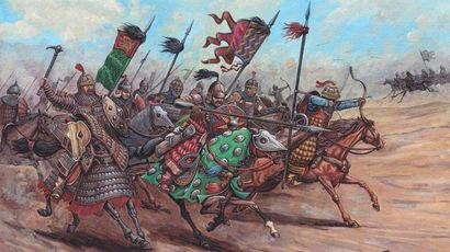 Что заставило войско Золотой Орды вернуться в русские земли из центра Европы