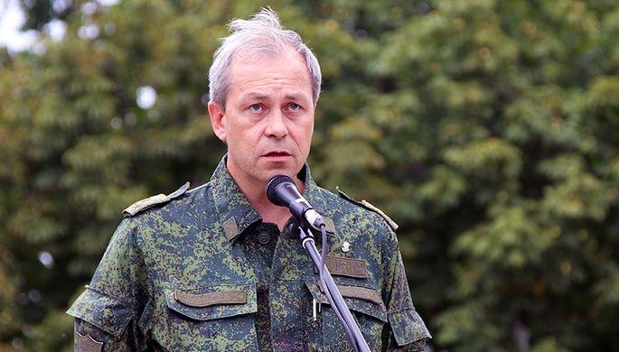 Басурин заявил, что Украина хочет начать боевые действия на Донбассе