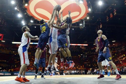 ЦСКА стал обладателем четвертого места баскетбольной Евролиги, уступив «Барселоне» в малом финале