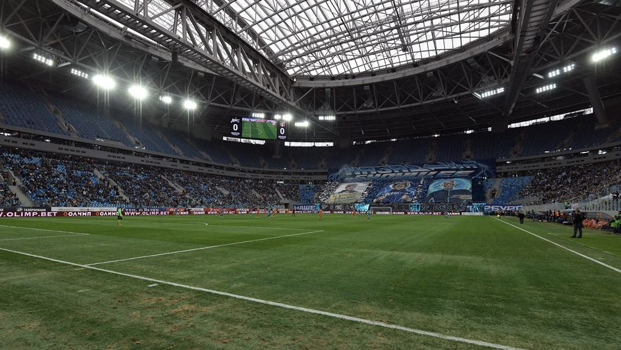 «Зенит» больше несыграет нановом стадионе доконца сезона