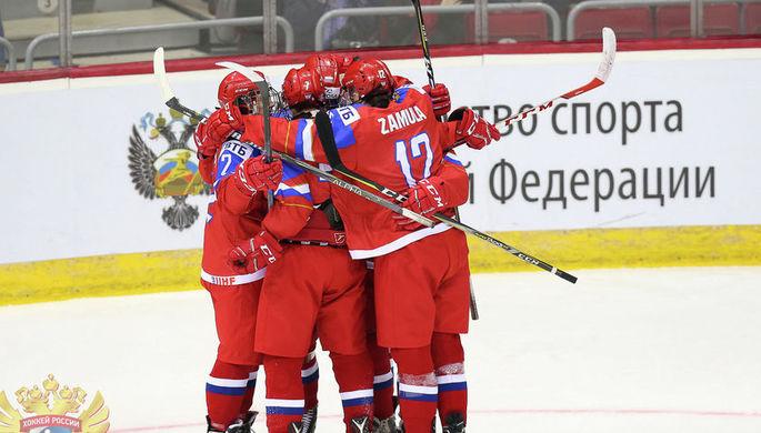 Сборная РФ не смогла выйти вполуфинал юниорскогоЧМ вЧелябинске