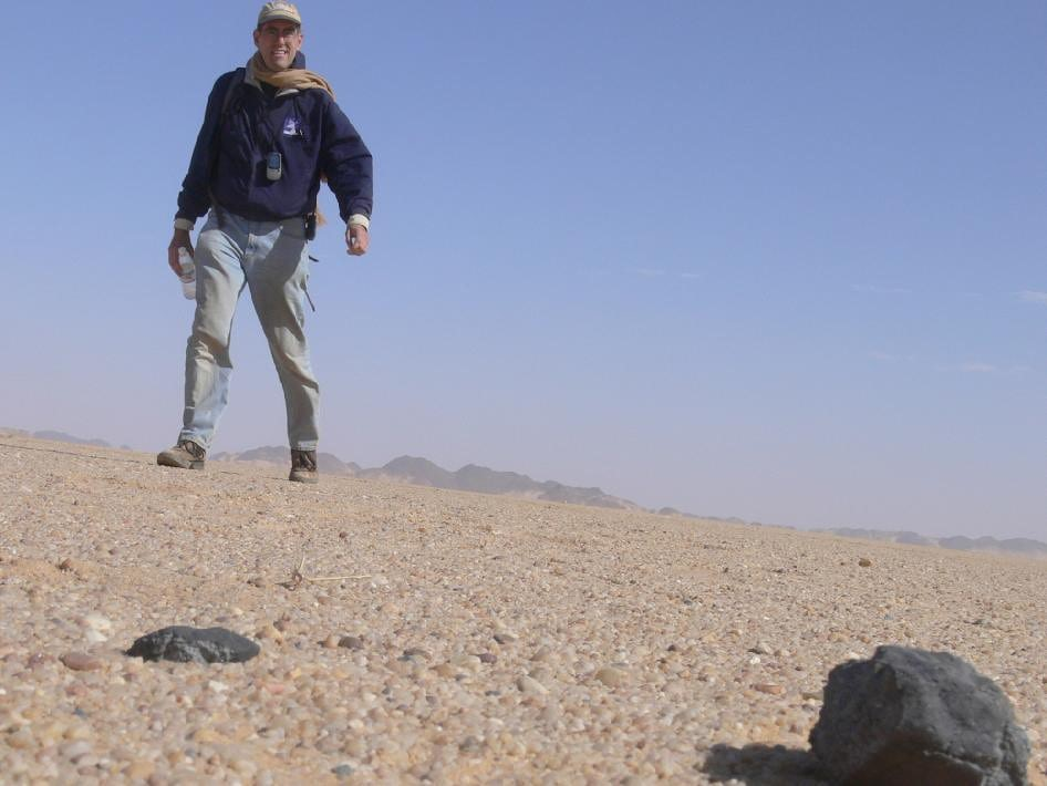Метеорит, упавший в 2008г вСудане, оказался частью исчезнувшей планеты