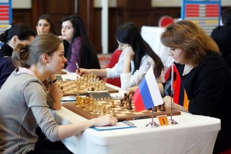 Российские шахматистки не переиграли команду Армении в последнем туре ЧМ