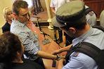 Репортаж из зала суда, где оглашался приговор по делу Навального и Офицерова