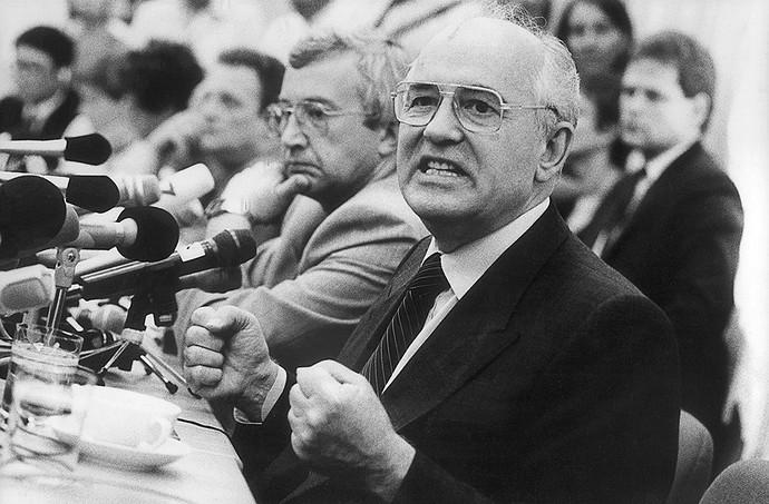 Михаил Горбачев. Фото: Павел Кассин/Коммерсантъ