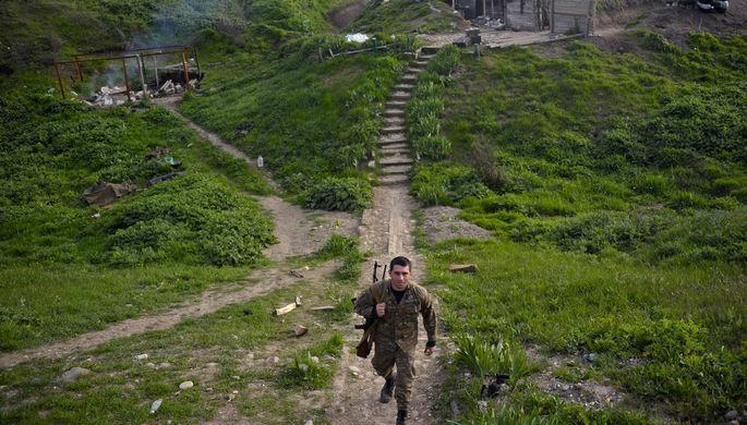 Азербайджан зафиксировал 126 обстрелов сармянской стороны