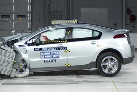 Краш-тест не был причиной возгорания аккумулятора на Chevrolet Volt