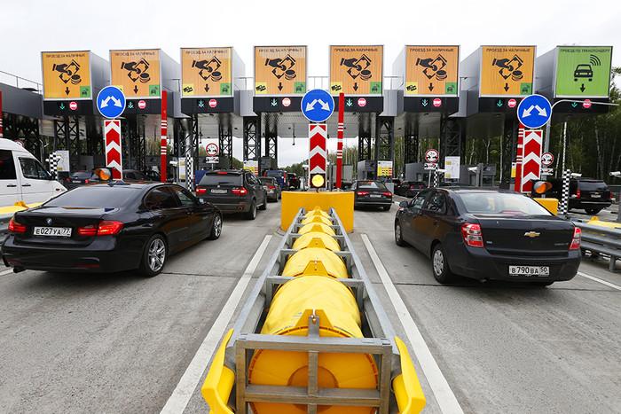 Новая платная дорога в объезд