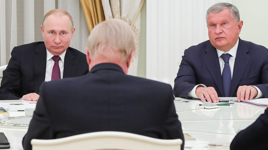 Песков анонсировал встречу В. Путина сглавой нефтяной компанииВР Робертом Дадли