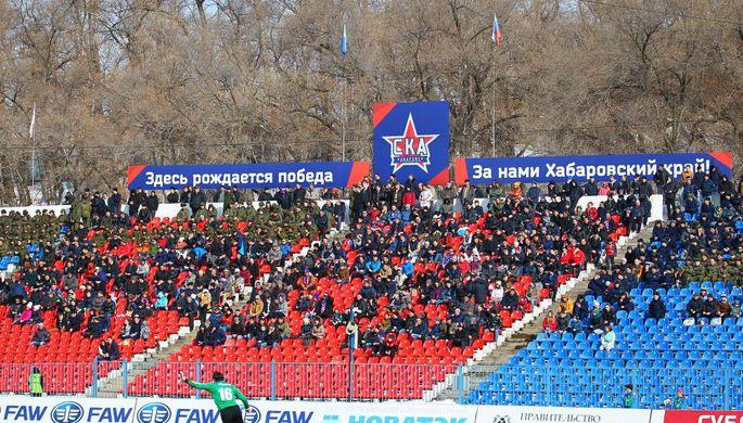 """«""""СКА-Хабаровск"""" иУфа» сыграли вничью"""