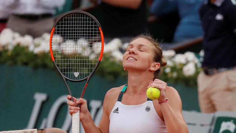 Халеп стала соперницей Мугурусы пополуфиналу Roland Garros
