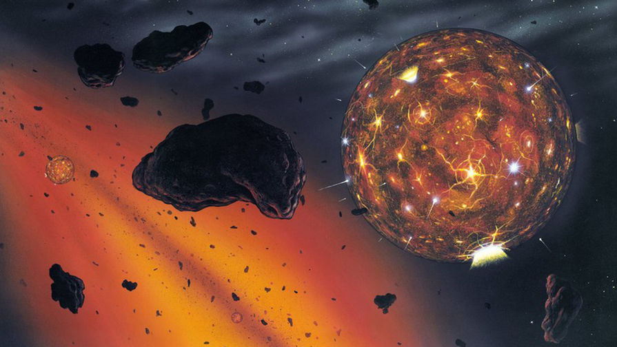 Ученые: алмазный метеорит информирует о  существовании больше 8-ми  планет вСС