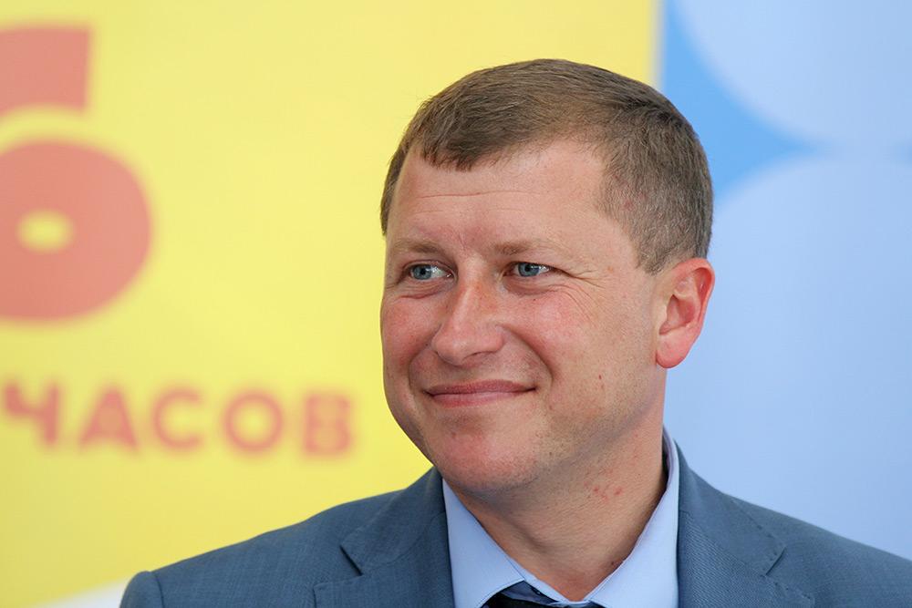 Гендиректор аэропорта «Симферополь» Евгений Плаксин. Фото: РИА «Новости»