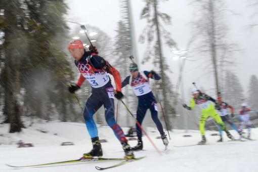Российская сборная по биатлону поборется за медали в эстафете