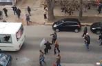 Столкновение со спецназом на улице Чернышевского в Харькове
