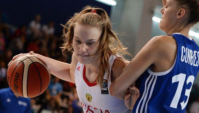 Лидер курского «Динамо» выбрана вдрафте женской НБА исыграет за«Лос-Анджелес»