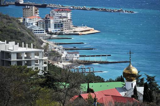 Крым. Вид на Ялту