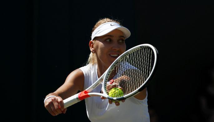 Теннисистка Елена Веснина проиграла японке Осаке вматче 2-го круга чемпионата Австралии