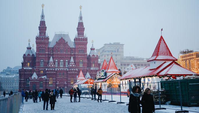 На российскую столицу обрушится сильнейший снегопад— Синоптики