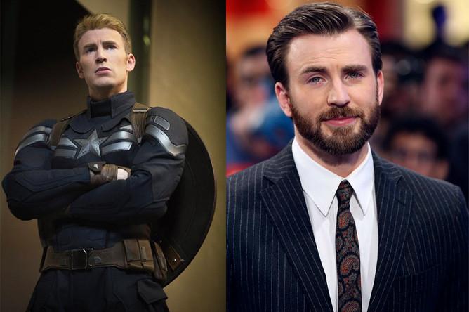 Крис Эванс после «Мстителей-4» больше небудет командиром Америкой