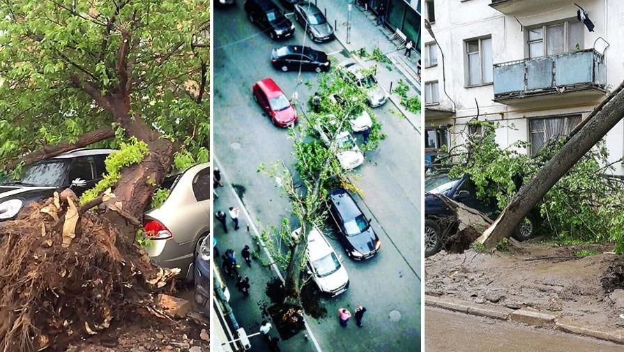 Ураган вМоскве 29мая 2017: самые страшные видео, фото