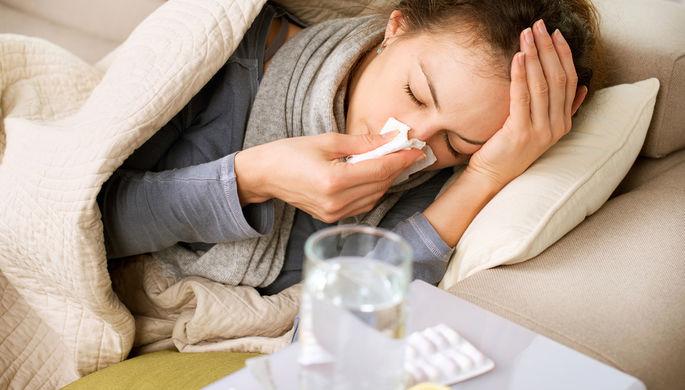 Заболеваемость гриппом загод снизилась в Российской Федерации практически вдвое