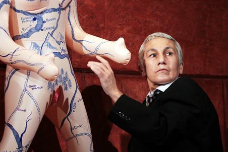 Константин Богомолов показал своего «Лира» в театре «Приют комедианта»