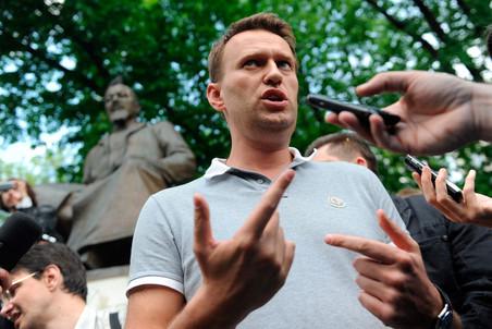 Navalnij a csúcsra tör