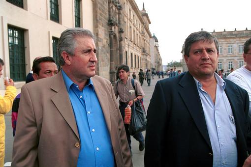 Хуан Давид Очоа (слева) с братом Хорхе Луисом