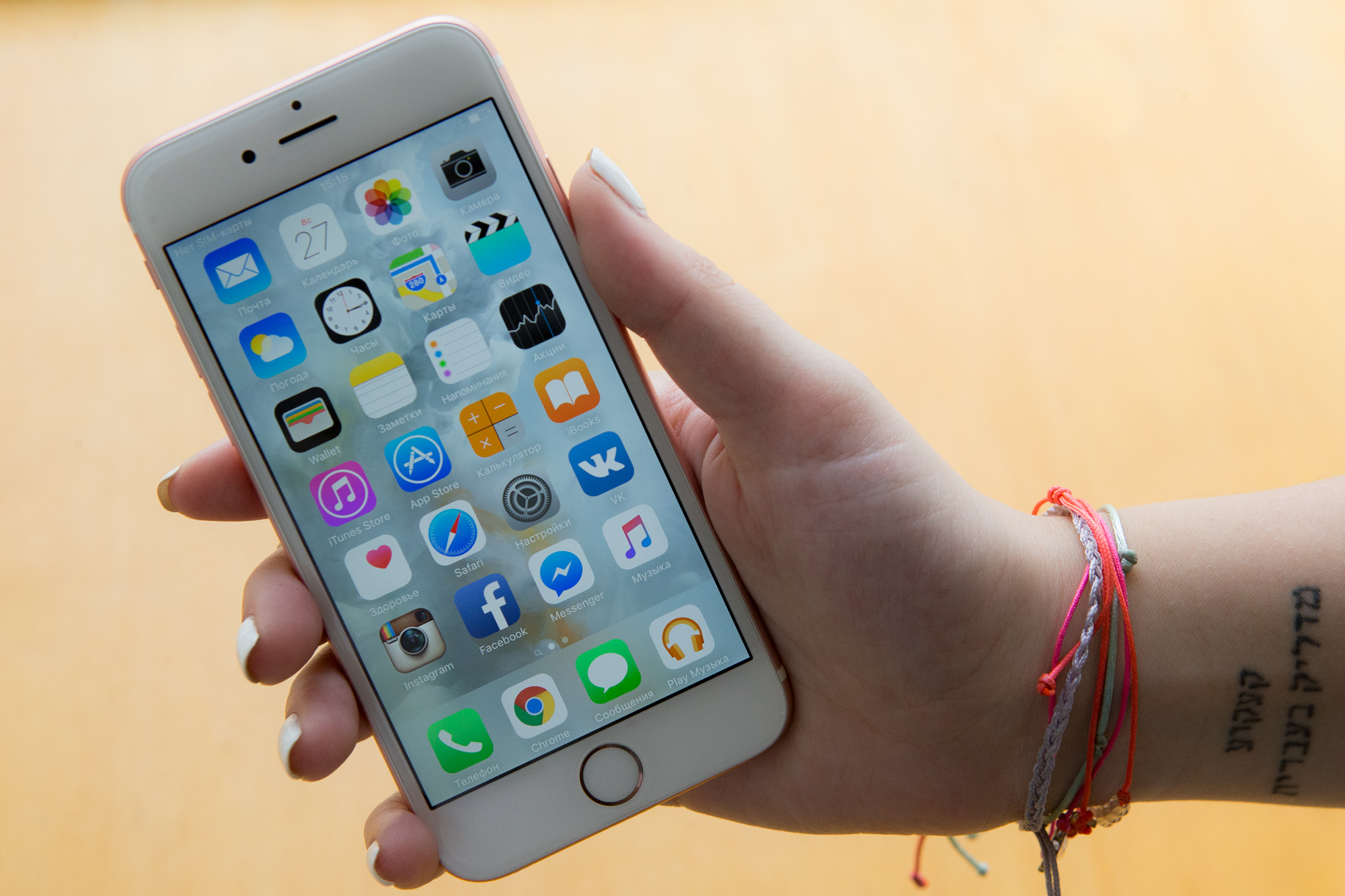 ��� �������� iPhone 6s Rose Gold