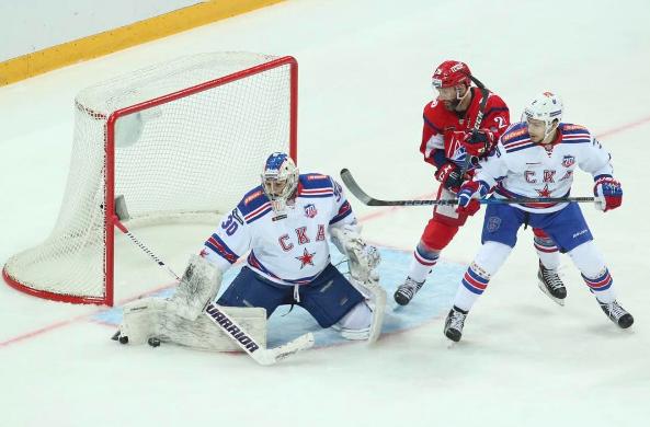 Питерский СКА громит «Локомотив» вЯрославле иодерживает 17-ю победу подряд