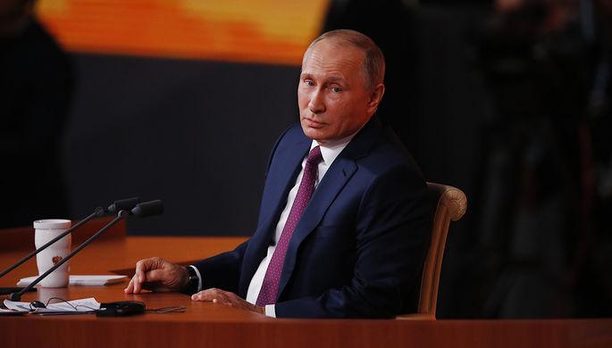 Путин пообещал поразмыслить над предложением омасштабной амнистии