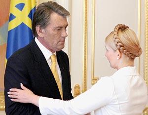 Ющенко может не советоваться с Тимошенко