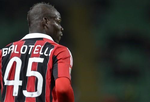 Марио Балотелли отметился забитым мячом на Сардинии