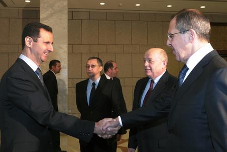 Сергей Лавров во вторник прибыл в Дамаск