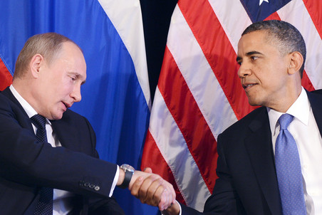 Putin congratulates Obama on victory