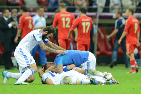 Россия покинула Евро-2012 неожиданно рано
