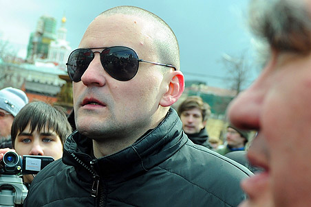 Sergey Udaltsov denied receiving money or orders from foreign states