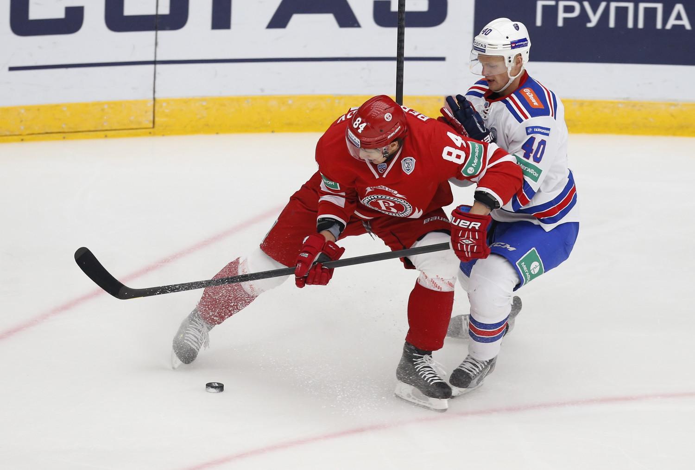 СКА обыграл «Витязь» народном льду, Коскиранта иКовальчук отметились дублями