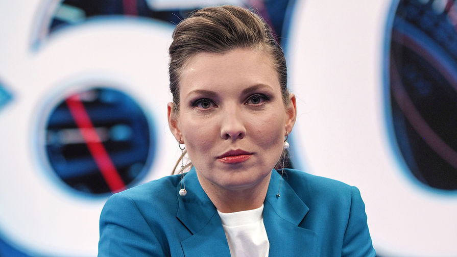 Скабеева вэфире ответила украинке наслова о«трупе» столицы