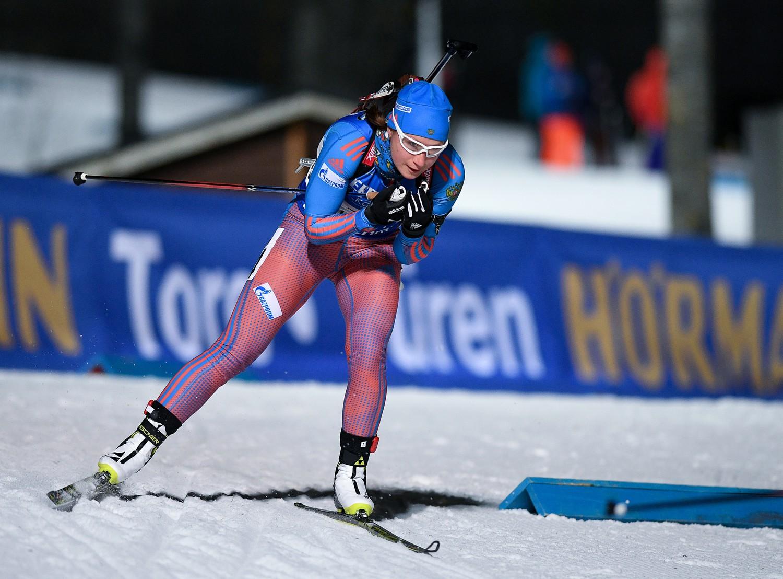 Русские биатлонистки провалили спринт наэтапеКМ вЭстерсунде