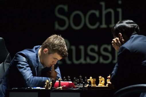Карлсен против Ананда