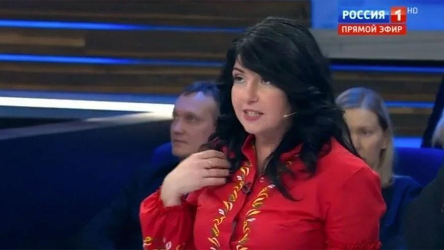 Украинская журналистка вызвала бурную истерику наРосТВ