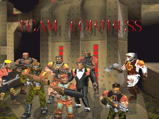 Team Fortress появился как мод для Quake